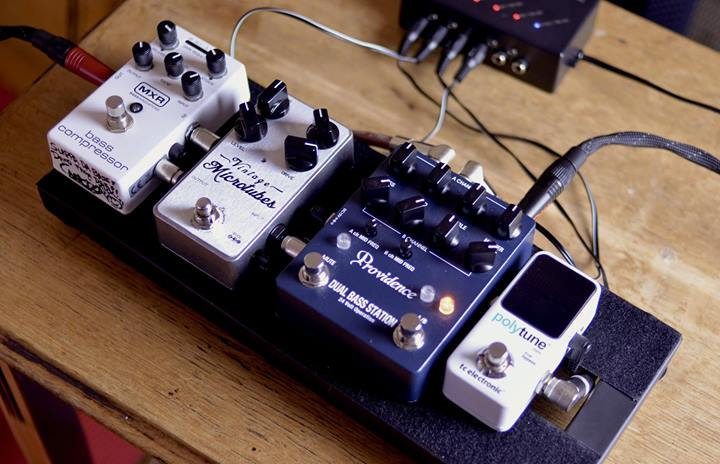 Pedalboard Bass DIY