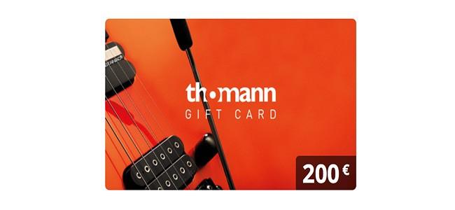 Thomann Gutschein 200
