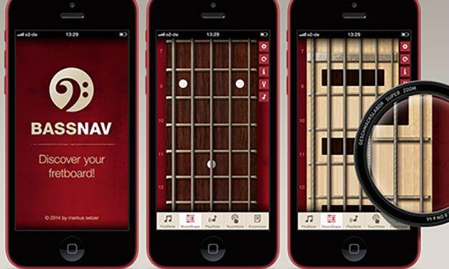 BassNav App für Bassisten