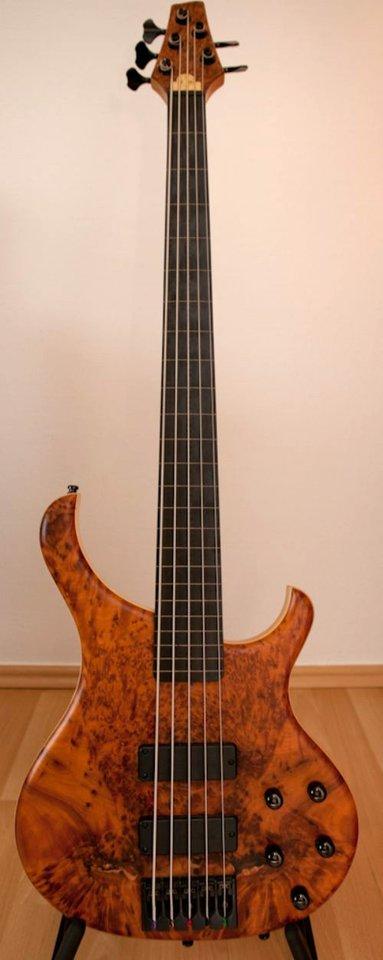 Base X 5 Fretless bass Tuja-Decke 36135_2.JPG