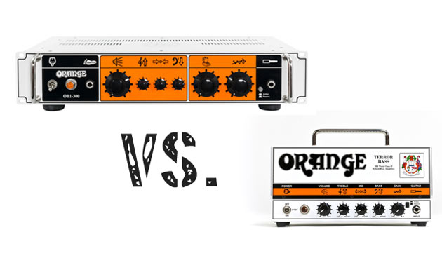 Orange ODB1 Terror Bass Vergleich