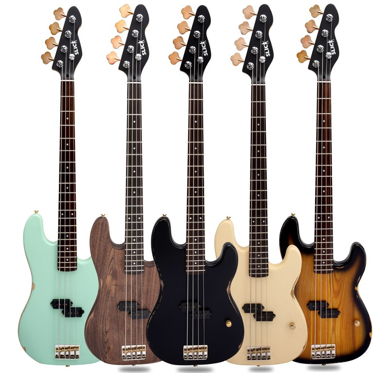SLICK Bass Guitars | Bassic.de