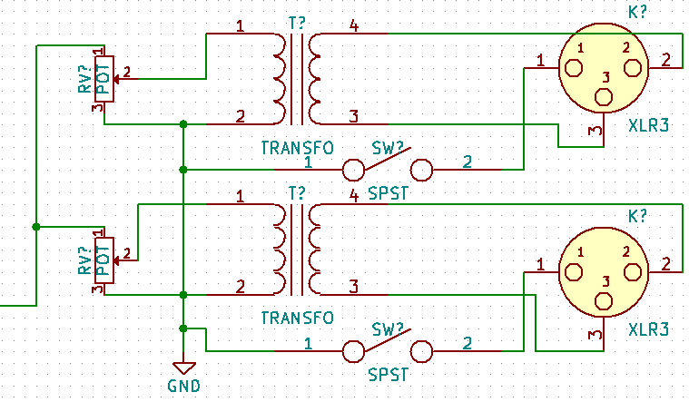 Output-Schaltung Sansamp Rackmounts | Bassic.de