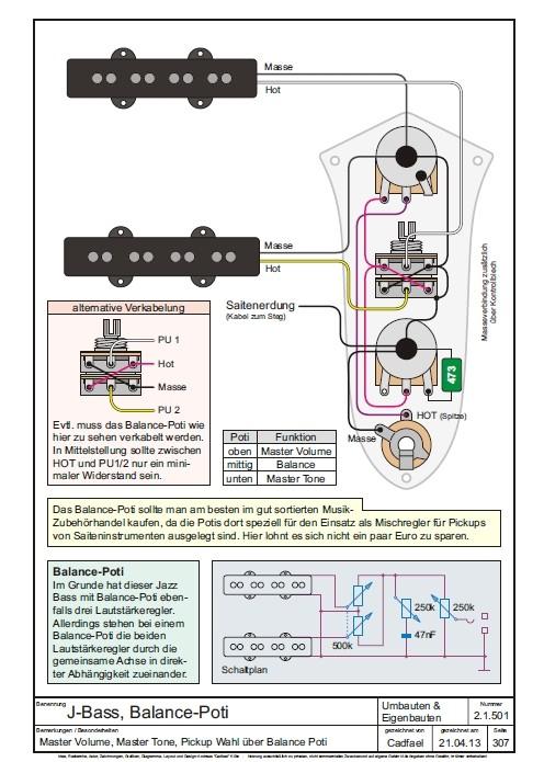 Austausch Elektronik + Änderung Schaltung   Bassic.de