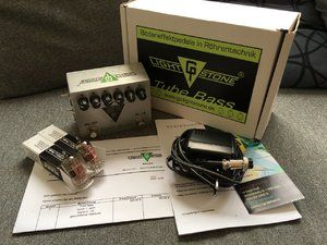GP Lightstone Tube Bass & passendes CIOKS-Netzteil, Lehle Basswitch Clean Boost, Midi Loop Expander