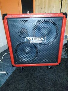 Mesa Boogie 212/Horn Powerhouse in ROT!