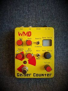 WMD Geiger Counter - Bit Crusher, Sample Rate Reducer, Distortion, ....