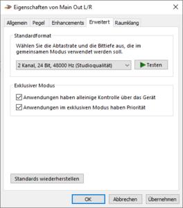 04-Geräteeigenschaften von MainOutLR-auf 24 Bit, 48000Hz umstellen.png