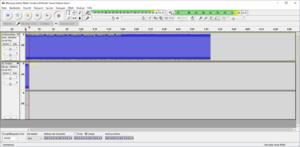 03-Pegelanzeige während der Aufnahme, wir haben bisher ein Maximum von etwa -4 dB, über -3 dB ...png