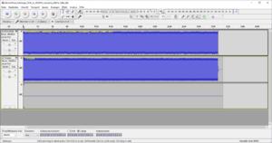01-Die Audacity-Aufnahme mit den Messdaten ist zunächst in Stereo.png
