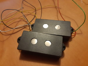 P Bass Pickup / Hotwire (by Bassculture) mit grossen MM Polepieces