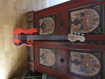 magnus pj 5 strings bass
