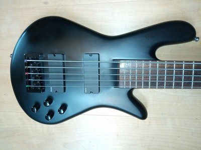 "Spector MK 5 Mike Kroeger, 5 string neck trough 35"", active EMG 40CS und BTS Elektronik"