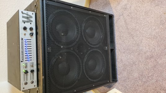 E-Bass Marshall MBC410 Bassbox 4x10 Cabinet Box