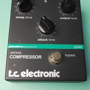 t.c.electronicts vintage compressor