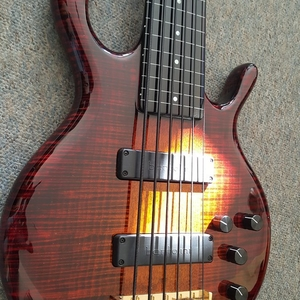 Pedulla Hexabuzz AAAAA Maple 6 String Fretless