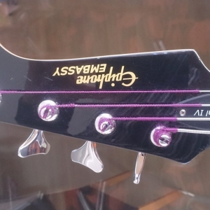 Fretless Bass Epiphone Embassy Special 4